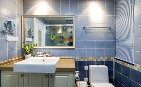最新成都卫生间墙砖装修效果图欣赏
