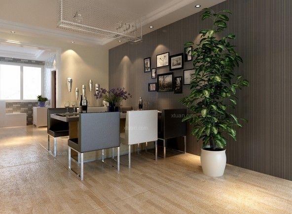 成都居室装修适当的摆放些植物还能增加几分生气