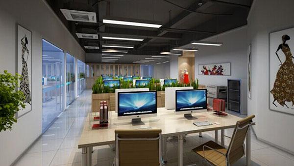 充满人文气息的最新成都高新区办公室装修效果图欣赏