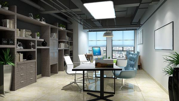 充满商业氛围最新成都武侯区办公室装修效果图欣赏