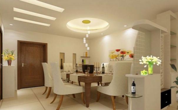 最新成都小型家庭餐厅装修效果图欣赏