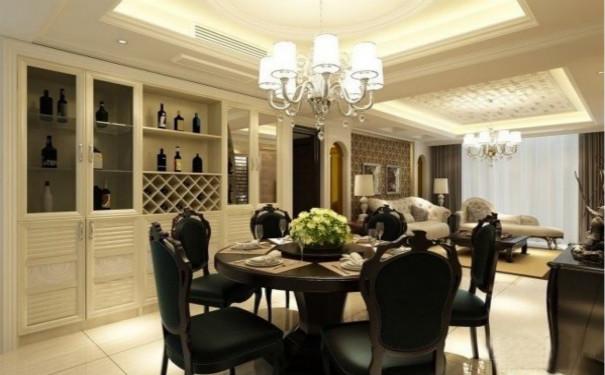 最新成都现代风格家庭餐厅装修效果图欣赏