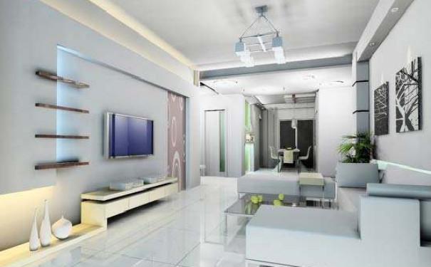 最新成都简约客厅电视背景墙装修效果图欣赏