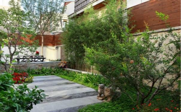 最新成都成华区家庭花园装修效果图欣赏