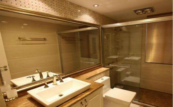 最新成都双流二手房卫生间翻新效果图欣赏