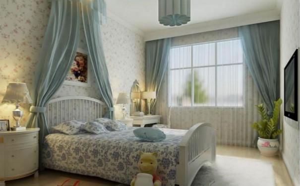 最新成都田园风格卧室装修效果图欣赏
