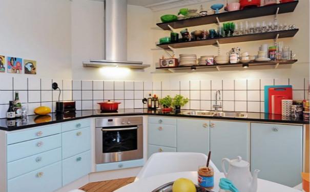 最新成都田园风格厨房装修效果图欣赏
