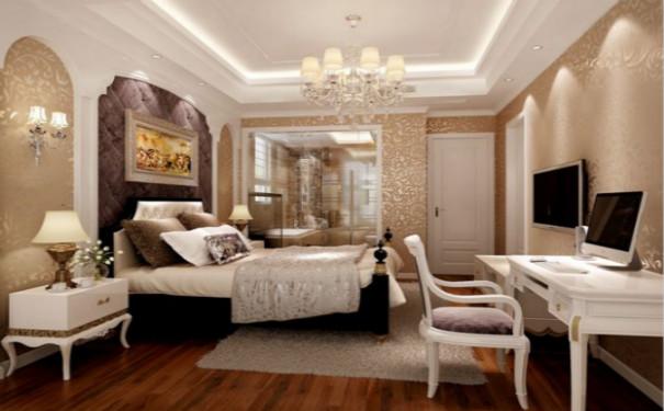 最新成都现代简约风格家庭卧室吊顶装修效果图欣赏