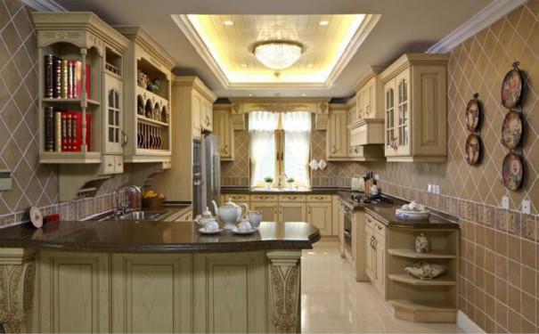 最新成都家庭厨房吊顶装修效果图欣赏