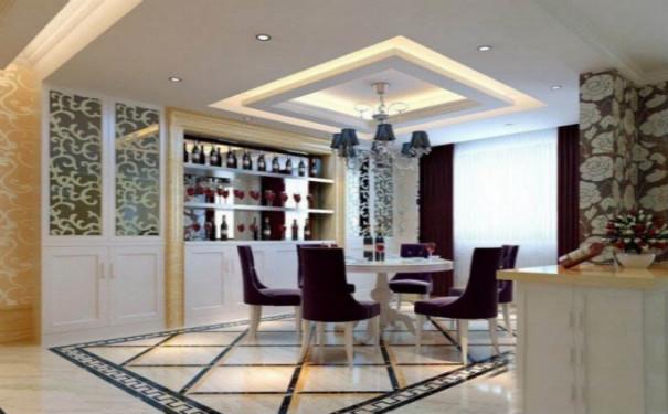 最新成都现代家庭餐厅装修效果图欣赏
