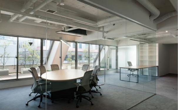 成都办公室简单装修吊顶效果图欣赏