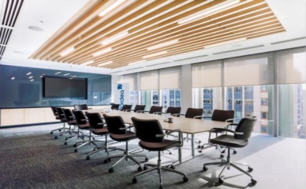 成都办公室装修案例效果图欣赏
