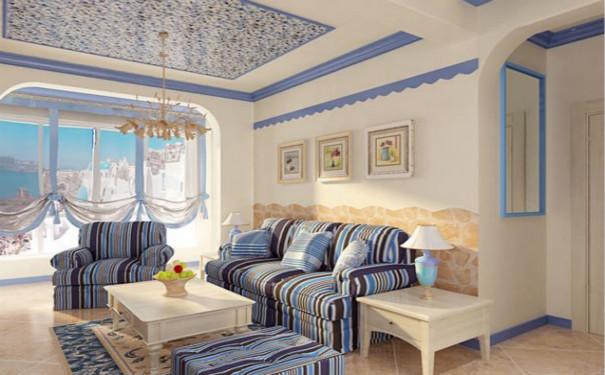 成都地中海风格家庭装修效果图欣赏