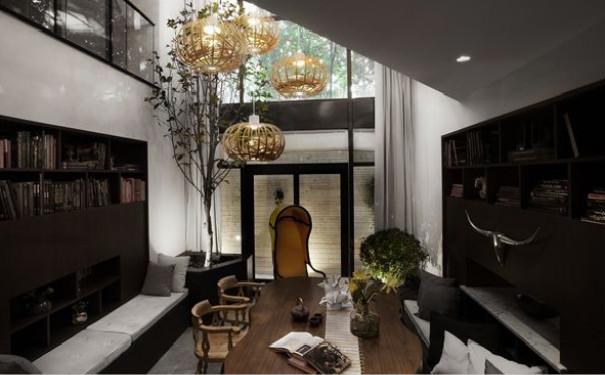 成都简约风格别墅设计装修效果图赏析