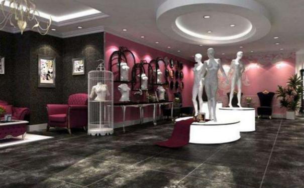 吸引人的成都服装店铺装修效果图片展示