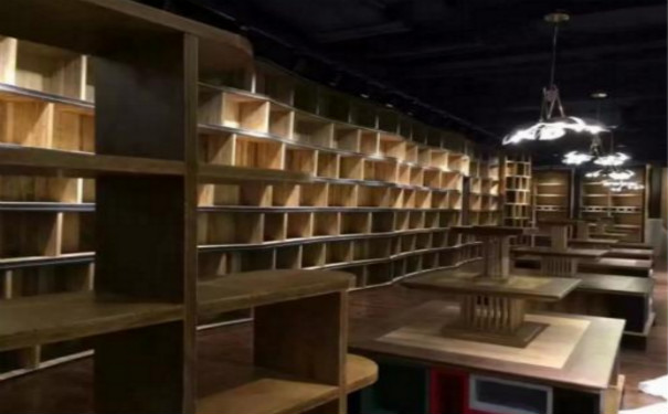 成都书店装修书架要加以重视